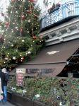 auch beim Hard Rock Café ist's weihnachtlich